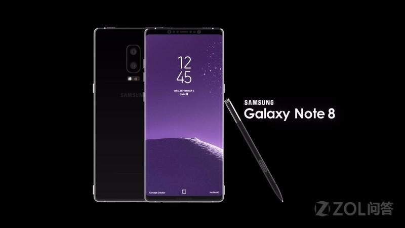 三星Galaxy note 8手机怎么样?
